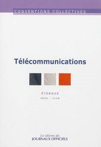 Télécommunications : convention collective nationale du 26 avril 2000 étendue par arrêté du 12 octobre 2000 : IDCC 2148