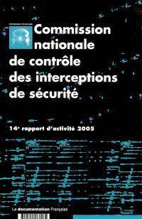 14e rapport d'activité : année 2005