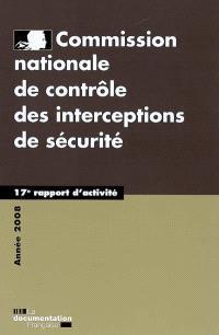 17e rapport d'activité : 2008