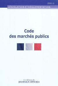 Code des marchés publics : textes mis à jour au 16 septembre 2011