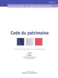 Code du patrimoine : parties législative et réglementaire