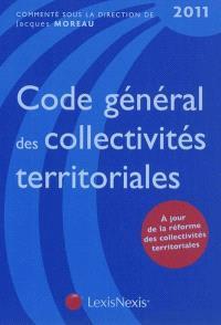 Code général des collectivités territoriales 2011