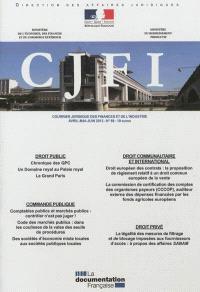 Courrier juridique des finances et de l'industrie (Le). n° 68