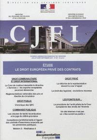 Courrier juridique des finances et de l'industrie (Le). n° 65