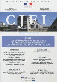 Courrier juridique des finances et de l'industrie (Le). n° 67