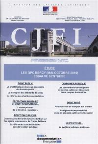 Courrier juridique des finances et de l'industrie (Le). n° 62