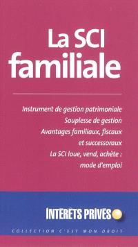 La SCI familiale