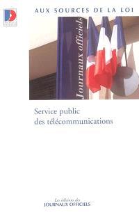 Service public des télécommunications
