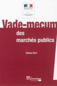 Vade-mecum des marchés publics