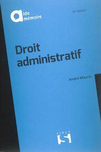Droit administratif : 2016