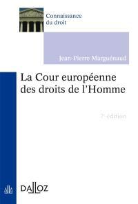 La Cour européenne des droits de l'homme