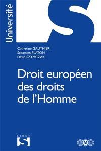Droit européen des droits de l'homme : 2017