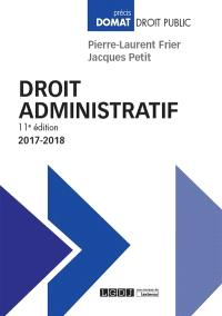 Droit administratif : 2017-2018