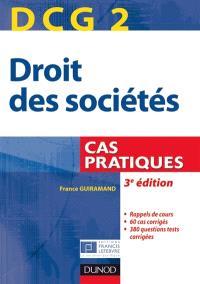 DCG 2, droit des sociétés : cas pratiques