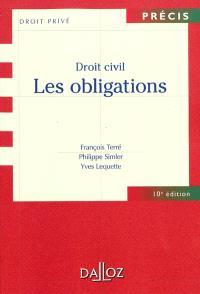 Droit civil : les obligations