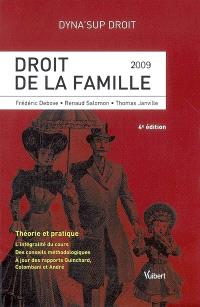 Droit de la famille : 2009