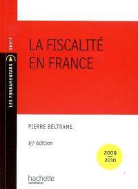 La fiscalité en France : 2009-2010