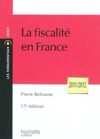 La fiscalité en France : 2011-2012