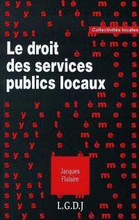 Le droit des services publics locaux