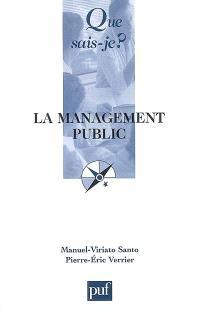 Le management public