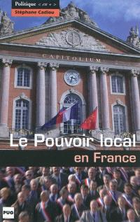 Le pouvoir local en France
