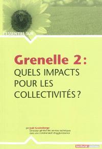 Grenelle 2 : quels impacts pour les collectivités ?