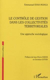Le contrôle de gestion dans les collectivités territoriales : une approche sociologique
