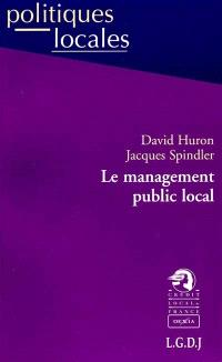 Le management public local