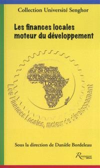 Les finances locales, moteur du développement