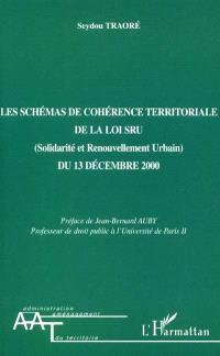 Les schémas de cohérence territoriale de la loi SRU (Solidarité et renouvellement urbain) du 13 décembre 2000