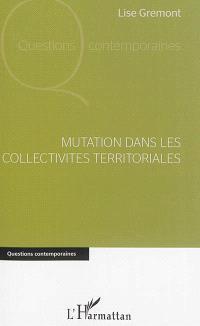 Mutation dans les collectivités territoriales