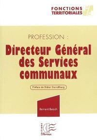 Profession, directeur général des services communaux : dans une ville moyenne ou un EPCI