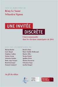 Une invitée discrète : l'intercommunalité dans les élections municipales de 2014