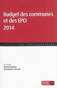 Budget des communes et des EPCI 2014