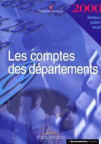 Les comptes des départements 2000