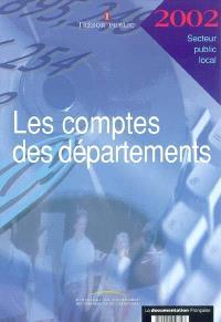 Les comptes des départements 2002