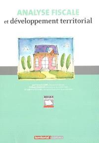 Analyse fiscale et développement territorial