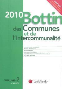 Bottin des communes et de l'intercommunalité 2010