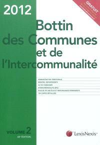 Bottin des communes et de l'intercommunalité 2012