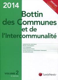 Bottin des communes et de l'intercommunalité 2014
