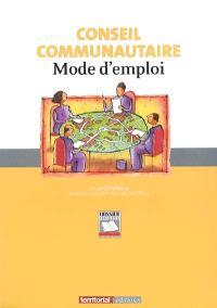 Conseil communautaire : mode d'emploi
