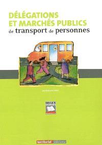 Délégations et marchés publics de transport de personnes