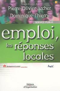 Emploi, les réponses locales