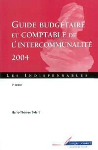Guide budgétaire et comptable de l'intercommunalité