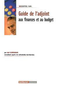 Guide de l'adjoint aux finances et au budget