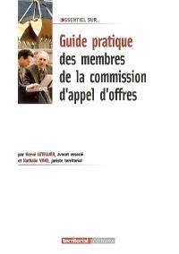 Guide pratique des membres de la commission d'appel d'offres