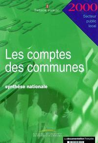 Les comptes des communes 2000 : synthèse nationale