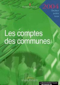 Les comptes des communes 2004