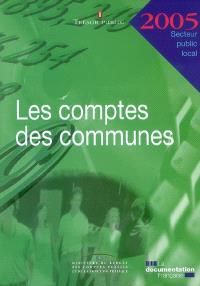 Les comptes des communes 2005