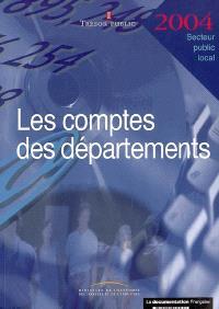 Les comptes des départements 2004